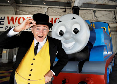 Fat Controller and Thomas