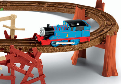 Thomas & Friends TrackMaster™ Longest Toy Train Track Guinness World Record Attempt