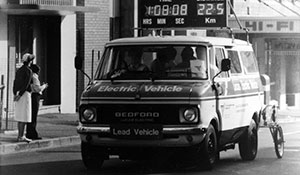 1982 Commonwealth Games Electric Van