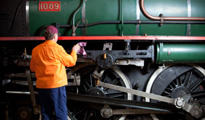 Heritage Railway Workshops Tours